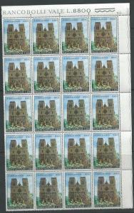 Vatican City #498 Sheet of 20 (MNH) CV$5.00