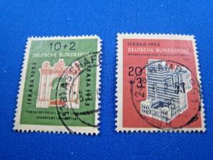 GERMANY -  SCOTT #B332-B333   Used   (dd)