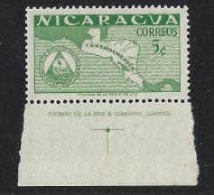 Nicaragua # 741 MNH