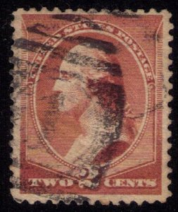 US Sc 211b Used Has Gum On Reverse F-VF Cat. $375.00