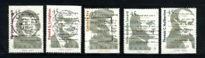 Canada #1622-26    -3    used VF 1996  PD