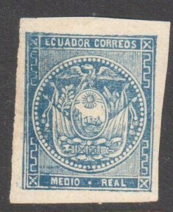 Ecuador #2 Mint No gum+ #6 Used