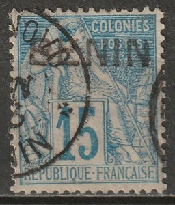 Benin 1892 Sc 6 used