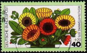 Germany. 1976 40pf+20pf S.G.1797 Fine Used