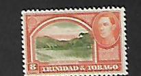 TRINIDAD & TOBAGO, 34-42, NO GUM , 1935-37 ISSUE