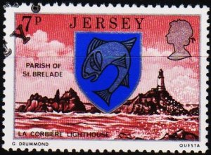 Jersey. 1976 7p S.G.141 Fine Used