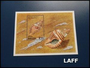 Maldives - Shells - Mini Sheet - MNH