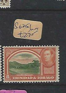 TRINIDAD & TOBAGO  (P2308B)  KGVI  8C  SG 251   MOG