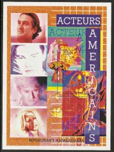 Madagascar Unlisted American Actors s.s. NH (016)