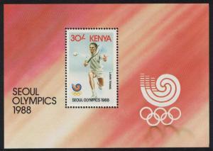 Kenya Tennis Olympic Games Seoul MS SG#MS472