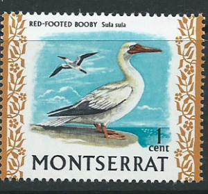Montserrat SG 242 Mint Very Light Hinge