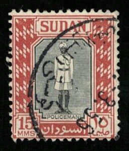 1951, Policeman, Sudan, 15MMS (Т-9822)