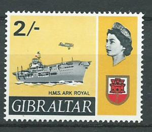 Gibraltar  SG 210   MUH
