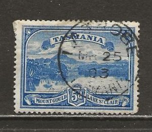 Tasmania Scott catalog # 92 Used