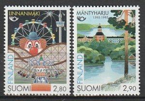 1995 Finland - Sc 963-4 - MNH VF - 2 single - Tourism