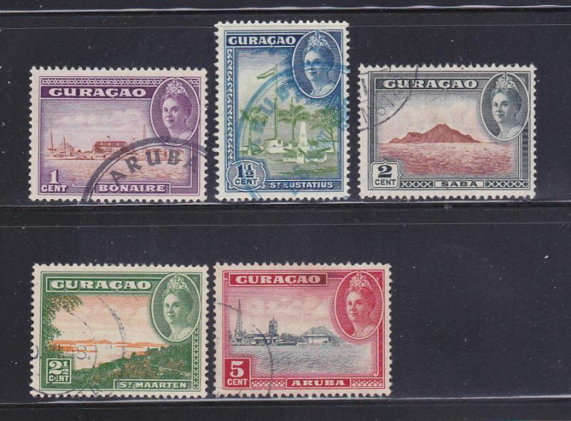 Netherlands Antilles 164-168 U Views