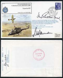 FF39C 25th Ann Formation Army Air Corps Signed by H. Stockwell M.B. Farndale (C)
