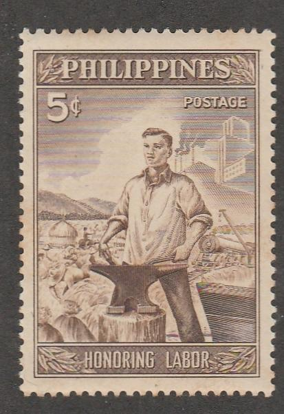 PHILLIPPINES #620 MINT NEVER HNGED COMPLETE