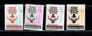 Haiti B28 29 and CB45 46 MNH 1962 set