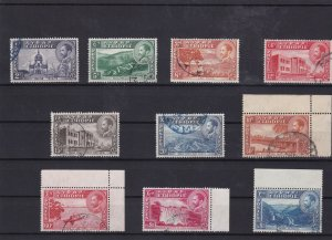 Ethiopia 1947 veiws used stamps Ref 8086