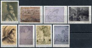 Albania 2017. Art. Graphics (MNH OG) Set of 8 stamps