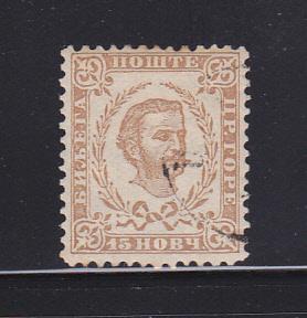 Montenegro 13 U Prince Nicholas I (A)