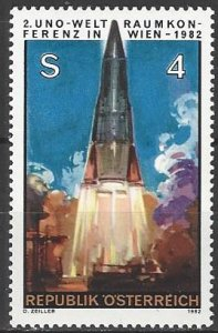 Austria 1219  MNH  Peaceful Use of Outer Space