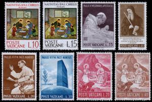 Vatican City Scott 397 // 421 (1964-65) Mint NG F-VF B