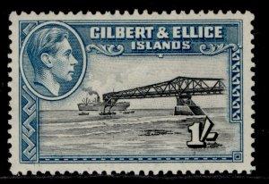 GILBERT AND ELLICE ISLANDS GVI SG51a, 1s, M MINT. Cat £20.
