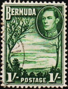 Bermuda. 1938  1s  S.G.115 Fine Used