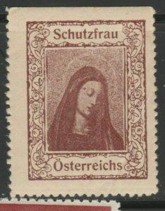 Austria Schutzfrau Cinderella Poster Stamp Reklamemarken A7P4F774