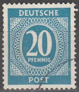 Germany #543 F-VF Used  (V2366)
