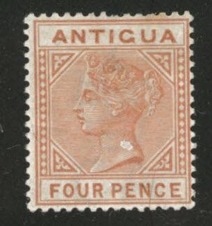 Antigua Scott 16  MH* 1886 Queen Victoria Issue