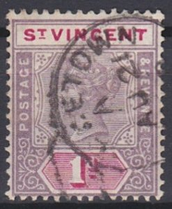 Saint Vincent 63 used (1898)