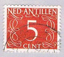 Netherlands Antilles 213 Used Numeral 1950 (BP33315)