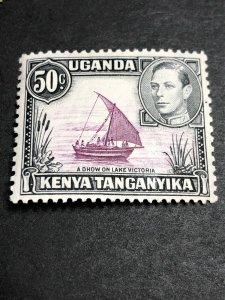 Kenya, Uganda & Tanganyika Scott 79a Mint OG CV $14