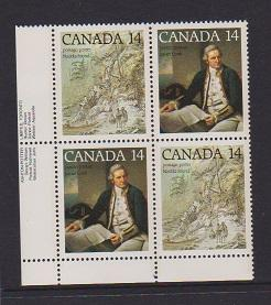 CANADA PLATE BLOCK MNH STAMPS #764A LOT#PB522