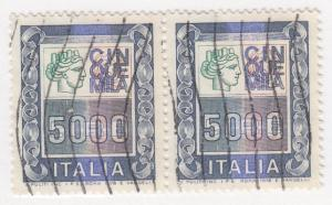 Italy, Scott # 1292 Pair, Used