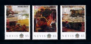 [91879] Nevis 2011 World War 2 D-Day Normandy Sword Beach  MNH