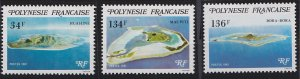 French Polynesia 352-354 (1981)