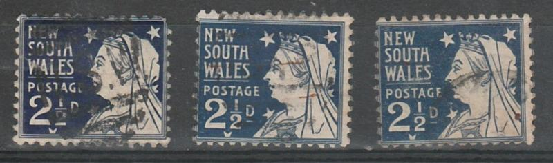 #100 New South Wales Used lot of  3