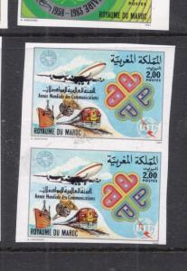 Morocco SC 562 Imperf Pair MNH (4dic)