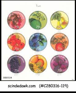 MICRONESIA - 2014 FRUITS / NATURE - MINIATURE SHEET MINT NH