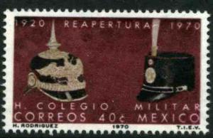 MEXICO 1027 50th Anniversary of the Military Academy. MNH