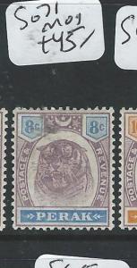 MALAYA PERAK (PP1105B) TIGER 8C  SG 71    MOG