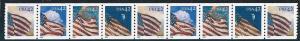 US Cat #4228-31, PNC9, Pl #S1111111, Flags of Seasons, MNH*