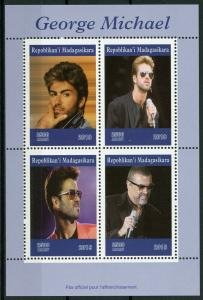 Madagascar 2019 GEORGE MICHAEL Sheet Perforated Mint (NH)
