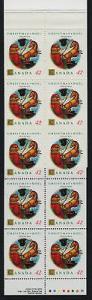 Canada 1452b Booklet BK150b MNH Christmas, Jouluvana