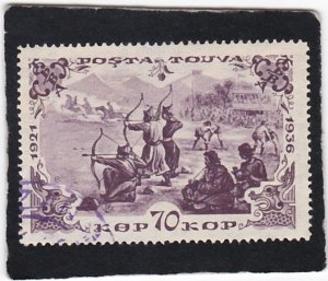 Tannu Tuva,  #   87a    used