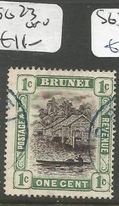Brunei SG 23 VFU (1clz)
